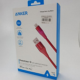 usb lighting кабель anker powerline+ii mfi 0.9m оригинал  foto