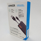 usb lighting кабель anker powerline+ mfi 0.9m оригинал  foto